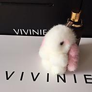Torba / telefon / brelok kluczy zabawka kreskówka królik norki futro