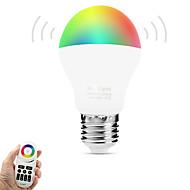 6W LED-älyvalot A60(A19) 14 SMD 5050 600 lm Lämmin valkoinen RGB Dual Light Source ColorInfrapunasensori Kauko-ohjattava WIFI
