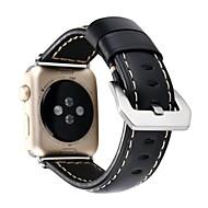 Horlogeband voor appelwatch series1 2 echte leer klassieke gespen band 38mm