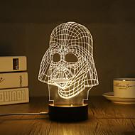 Διακοσμητικός φωτισμός LED νύχτα φως Φώτα USB-0.5W-USB Διακοσμητικό - Διακοσμητικό