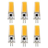 3W Luminárias de LED  Duplo-Pin T 1 COB 300 lm Branco Quente Branco V 6 pçs