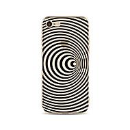 Obudowa dla telefonu iphone 7 plus 7 pokrywka przezroczysta obudowa tylna okładka etui / fale miękka tpu dla telefonu iphone 6s plus 6