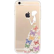 Przypadku iPhone 7 6 gry z jabłko logo tpu sexy lady miękkie cienkie tylne okładki obudowa iphone 7 plus 6 6s plus se 5s 5 5c 4s 4