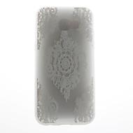 Taske til samsung galaxy a5 (2017) a5 (2016) case cover blonde print mønster 3d relief mælk tpu materiale telefon taske til galaxy a3