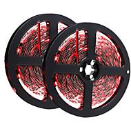72W Flexibele LED-verlichtingsstrips 6950-7150 lm DC12 V 10 m 300 leds Rood Geel Groen