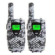 Duurzame camo walkie talkies voor kinderen 22 channel micro usb opladen 3 mijl (tot 5 mijl) frs / gmrs handheld mini walkie talkies voor