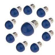 3W LED-pallolamput G45 6 SMD 2835 / lm Punainen Sininen Keltainen Vihreä Koristeltu 220 V 10 kpl E27