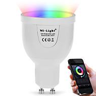 5W LED-älyvalot A60(A19) 12 SMD 5730 500 lm Dual Light Source Color RGB + valkoinenInfrapunasensori Kauko-ohjattava WIFI Valaistuksen
