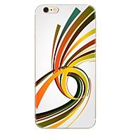 IPhone 7 7 plusz vonalak minta tpu puha hátlap az iPhone 6 plusz 6s plusz iphone 5 se 5s 5c 4s