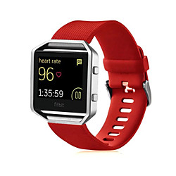 Smart Watch Band for Fitbit 1 pcs Sport Band Silicone Replacement  Wrist Strap for Fitbit Blaze 23mm miniinthebox