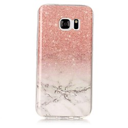 'Phone Case For Samsung Galaxy Back Cover S8 Plus S8 S7 Edge S7 S6 Edge S6 S5 S4 S3 Imd Marble Soft Tpu Miniinthebox