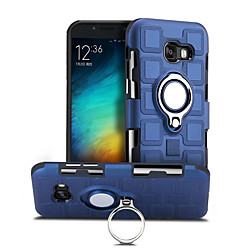 Phone Case For Samsung Galaxy Back Cover A5 360° Rotation Shockproof Ring Holder Solid Colored Hard PC miniinthebox