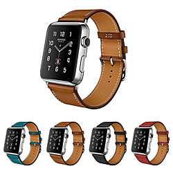 Smart Watch Band for Apple iWatch 1 pcs Leather Loop Genuine Leather Replacement  Wrist Strap for Apple Watch Series SE / 6/5/4/3/2/1 38mm 40mm 42mm 44mm miniinthebox