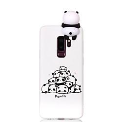 Phone Case For Samsung Galaxy Back Cover S9 S9 Plus S8 Plus S8 S7 edge S7 Pattern DIY Cartoon Panda Soft TPU miniinthebox