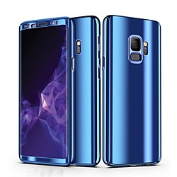 Phone Case For Samsung Galaxy Full Body Case S9 S9 Plus S8 Plus S8 S7 edge S7 Plating Solid Colored Hard PC miniinthebox