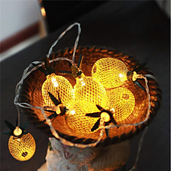 1pc 1.5m LED String Lights for Hawaiian Party Diy Decoration Drop 10pcs Pineapple String Lights for Birthday Party Wedding miniinthebox