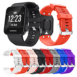 Smart Watch Band for Garmin 1 pcs Sport Band Silicone Replacement  Wrist Strap for Forerunner 35 miniinthebox