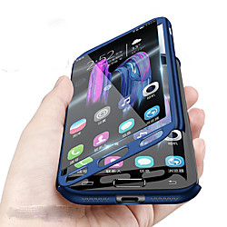 Phone Case For Samsung Galaxy Full Body Case A8 2018 A8 A7 Shockproof Solid Color Hard PC miniinthebox