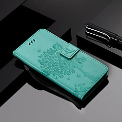 Phone Case For Samsung Galaxy Full Body Case Leather A7 A10 A30 A50 A20 A40 A90 A70 Galaxy A20e A50s Wallet Card Holder with Stand Tree PU Leather TPU miniinthebox