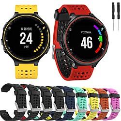 'Smartwatch Band For Approach S20 / Approach S5 /forerunner 735 Garmin  Silicone Sport Band Fashion Soft Wrist Strap Miniinthebox