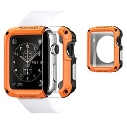 Cases For Apple iWatch Apple Watch Series SE / 6/5/4/3/2/1 TPU / Plastic Screen Protector Smart Watch Case Compatibility 38mm 40mm 42mm 44mm miniinthebox