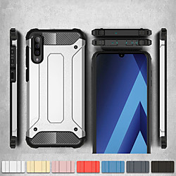 Shockproof Cover Phone Case For Samsung Galaxy A50 A70 A40 A30 A20 A10 A20e Rubber Armor Hybrid PC Hard Cover For A7 2018 A8 Plus 2018 A8 2018 A6 Plus 2018 A6 2018 Silicone TPU Case miniinthebox