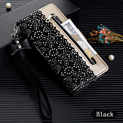 Phone Case For Huawei Full Body Case Leather Wallet Card Huawei P20 Huawei P20 Pro Huawei P20 lite Huawei P30 Huawei P30 Pro Huawei P30 Lite Wallet Card Holder Flip Solid Colored PU Leather miniinthebox