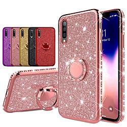 Diamond 360 Degree Rotating Ring Holder Plating Soft TPU Glitter Bling Cases For Samsung A70 A50 A40 A30 A20 A10 A7 2018 A8 Plus 2018 A8 2018 A6 Plus 2018 A6 2018 Shining Case miniinthebox