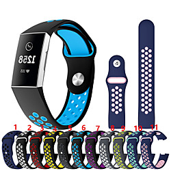 Smart Watch Band for Fitbit 1 pcs Sport Band Silicone Replacement  Wrist Strap for Fitbit Charge 3 miniinthebox