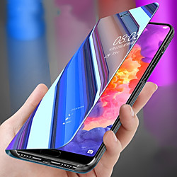 Phone Case For Huawei Full Body Case Huawei P20 Huawei P20 Pro Huawei P20 lite Huawei P30 Huawei P30 Pro Huawei P30 Lite P10 Plus P10 Lite P10 P9 lite mini Shockproof with Stand Mirror Solid Colored miniinthebox