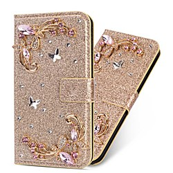 Case For Samsung Galaxy A51 M40S A71 Wallet  Shockproof Butterfly Diamond Glitter PU Leather Case For Samsung S20 Plus S20 Ultra A20e A50s A30s A10 A60  A70 A80 S10E S10 5G  S10 Plus  Note 10 Plus Not miniinthebox