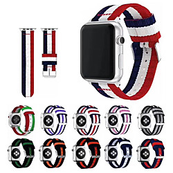 Smart Watch Band for Apple iWatch 1 pcs Sport Band Classic Buckle Nylon Replacement  Wrist Strap for Apple Watch Series SE / 6/5/4/3/2/1 38mm 40mm 42mm 44mm miniinthebox