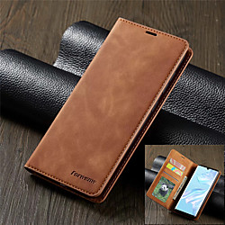 Luxury Leather Magnetic Flip Phone Case for Huawei P40 P30 P30 Lite P30 Pro Wallet Card Holder Book Cover P20 P20 Lite P20 Pro P Smart 2019 Mate 20 Mate 20 Lite Mate 20 Pro miniinthebox
