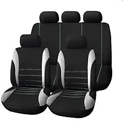 Mini In The Box 9 stks / set autostoel cover comfortabele stofdicht stoelbeschermer doek art beschermen kussen autostoeltjes auto-styling auto-interieur automobiles universele volledige zitkussen cover miniinthebox