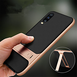Case For Samsung Galaxy A70 / A50  with Stand Back Cover Solid Colored TPU / PC Phone Case For Samsung Galaxy A40 / A30 / A20 / A10 miniinthebox