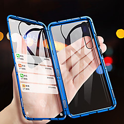 Magnetic Double Sided Glass Case for Samsung Galaxy S21 Plus S21 Ultra A70 A50s Clear 360 Protection Metal Magnet Adsorption Protective Case for Samsung Galaxy A50 A40 A10(2019) M30 M20 A7 A9 miniinthebox