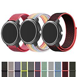 'Nylon Watch Band Wrist Strap For Garmin Vivoactive 4 / Venu / Vivoactive 3 / Forerunner 645 / 245m / 245 / Vivomove Hr Replaceable Bracelet Wristband Miniinthebox