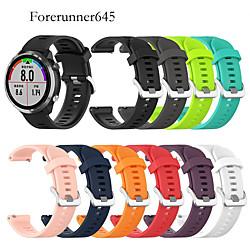 'Watch Band For Forerunner 645/forerunner 645m Garmin Sport Band Silicone Wrist Strap Miniinthebox