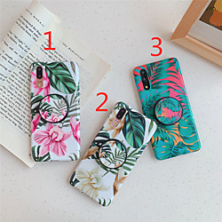 Phone Case For Huawei Back Cover Huawei P20 Huawei P20 Pro Huawei P20 lite Huawei P30 Huawei P30 Pro Huawei P30 Lite with Stand IMD Frosted Flower TPU miniinthebox