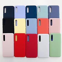 Phone Case For Xiaomi Back Cover Xiaomi Mi 9 Xiaomi Mi 9 SE Shockproof Solid Color TPU miniinthebox