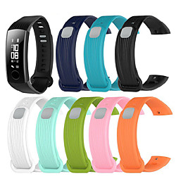 Smart Watch Band for Huawei 1 pcs Sport Band Silicone Replacement  Wrist Strap for Honor Band 3 miniinthebox