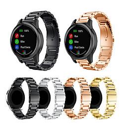 For Garmin vivoactive 4S Metal Smart Watch Band Strap Stainless Steel miniinthebox