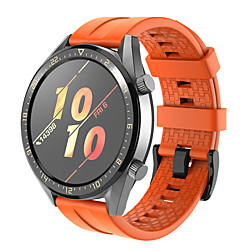 Smart Watch Band for Huawei 1 pcs Sport Band Silicone Replacement  Wrist Strap for Huawei Watch GT2 46mm 22mm miniinthebox