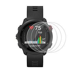3 Pcs For Garmin Forerunner 245-245M-645 Tempered Glass Smartwatch Screen Protector 9H Hardness miniinthebox