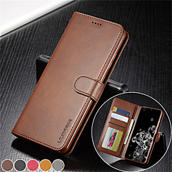 lc.imeeke Luxury Leather Flip Wallet Case For Huawei P Smart 2019 P40 P30 Y5 2019 Y9 2019 P Mate 20 Pro Honor 8X P Smart Z Magnetic Card Stand Cover miniinthebox