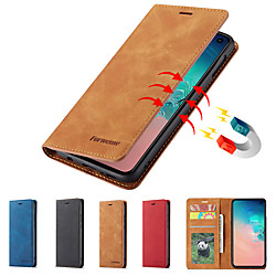 Forwenw Luxury Leather Magnetic Flip Case for Huawei P40 Pro Nova 7i 6SE P30 P30 Pro P30 Lite P20 P20 Pro P20 Lite Mate 30 Mate30 Lite Mate 30 Pro Mate 20 Pro Mate20 Lite Wallet Phone Protective Case miniinthebox