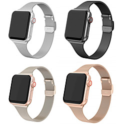 Smart Watch Band for Apple iWatch 1 pcs Milanese Loop Stainless Steel Replacement  Wrist Strap for Apple Watch Series SE / 6/5/4/3/2/1 38mm 40mm 42mm 44mm miniinthebox