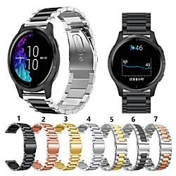 For Garmin vivoactive 4 Metal Smart Watch Band Strap Stainless Steel miniinthebox