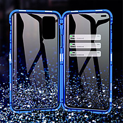 Magnetic 360 Metal Case For Samsung Galaxy A11 / A21 /A41 /A51 /A71 /A81 /A91 /A50 / A20 /A10 Double Sided Tempered Glass Case Cover for Samsung Galaxy S20 / S10 /Note 10 / 10Pro miniinthebox