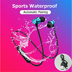 'Xt11 Magnetic Wireless Bluetooth Earphone Music Phone Neckband Sport Headset With Mic For Smart Phone